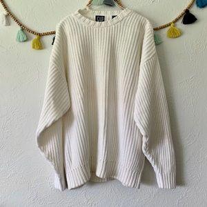 Vintage Gap Drop Shoulder Oversized Sweater